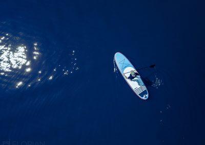 Luftaufnahme SUP